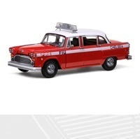 81er Checker A11, Chelsea Fire Engine (Red), 1:18